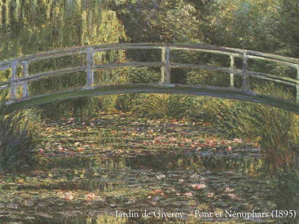Jardin de Giverny – Pont et Nénuphars (1895)