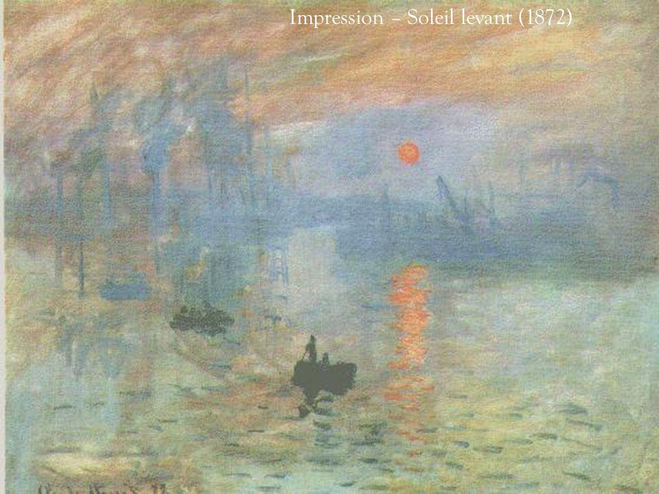 Impression – Soleil levant (1872)