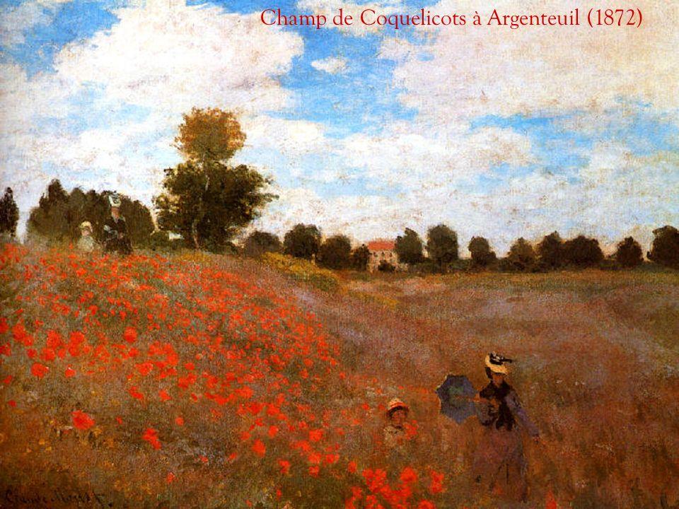 Champ de Coquelicots à Argenteuil (1872)