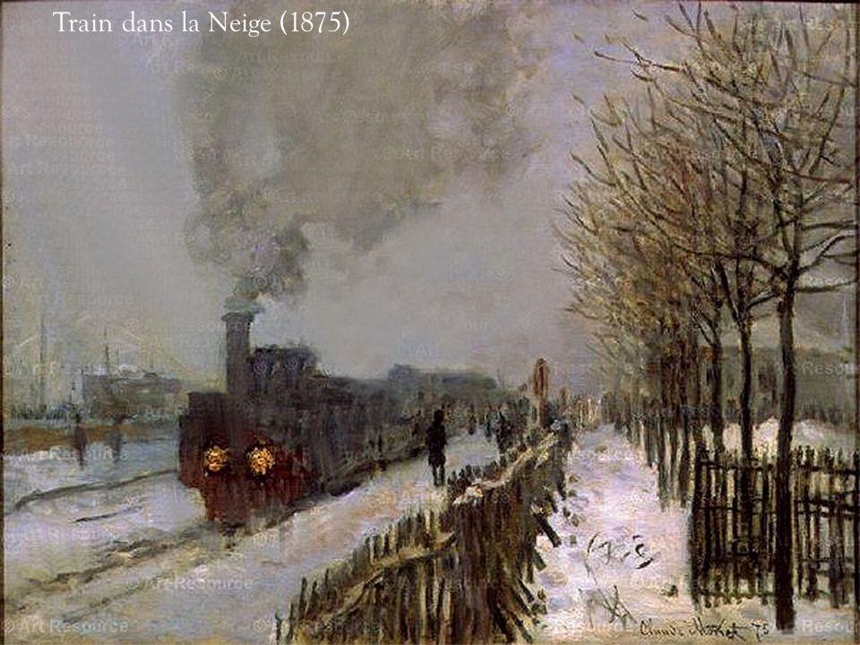 Train dans la Neige (1875)