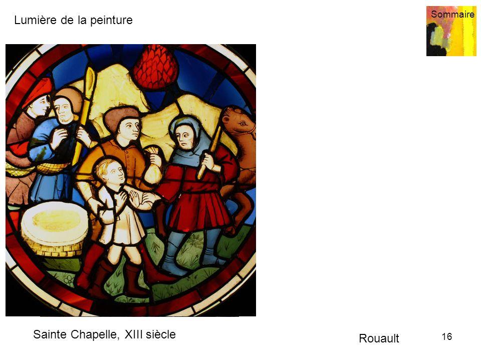 Sainte Chapelle, XIII siècle