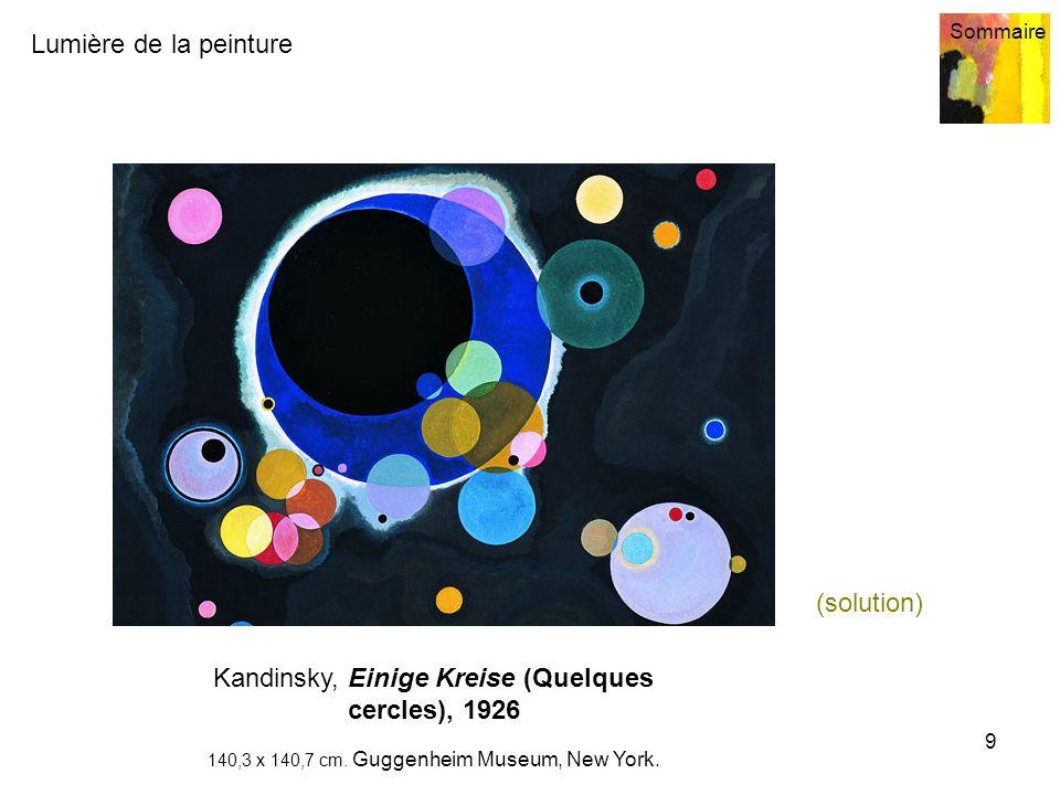 Kandinsky, Einige Kreise (Quelques cercles), 1926