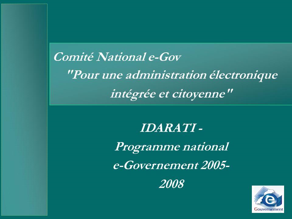 Pour une administration électronique