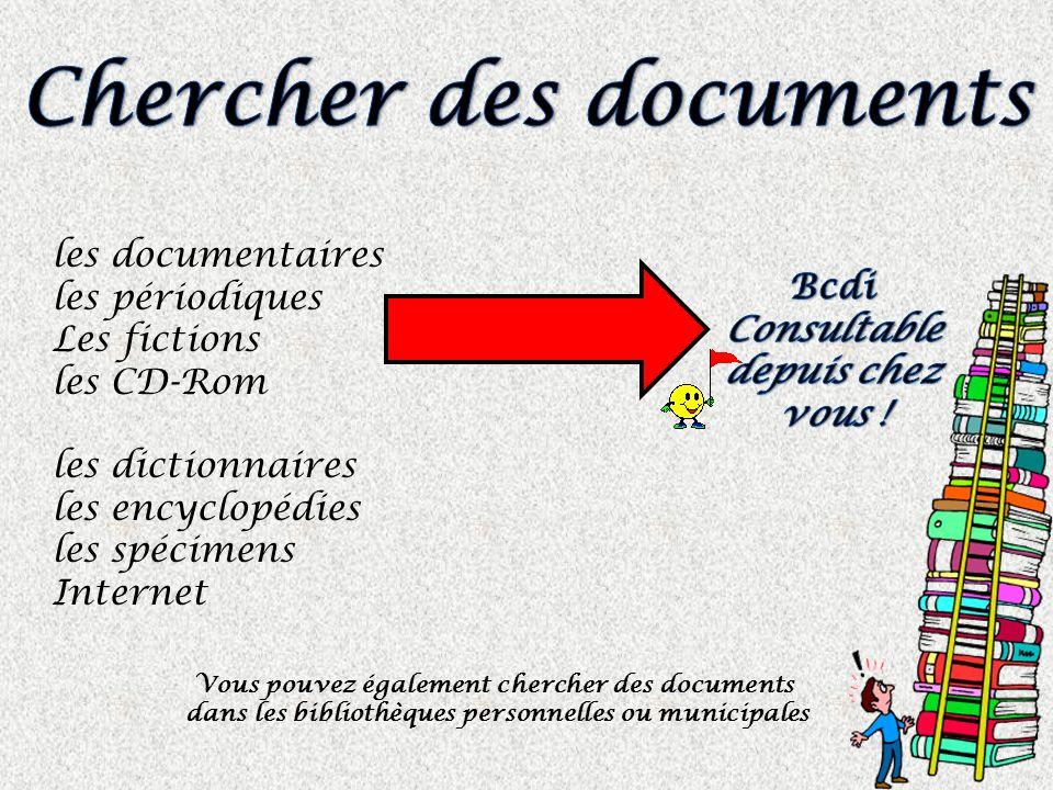 Chercher des documents