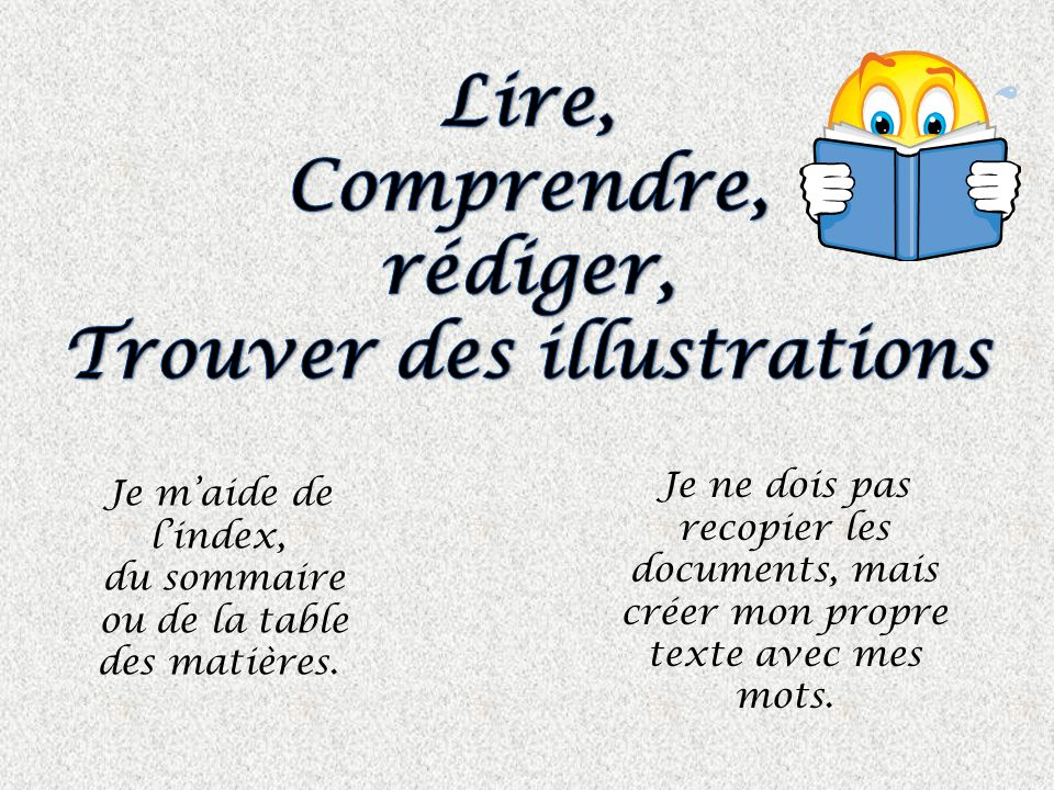Trouver des illustrations