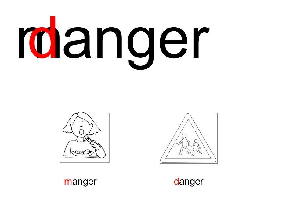 m d anger manger danger