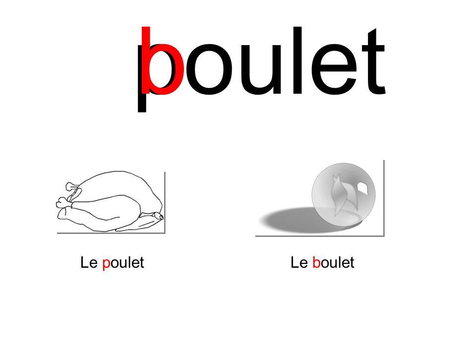p b oulet Le poulet Le boulet