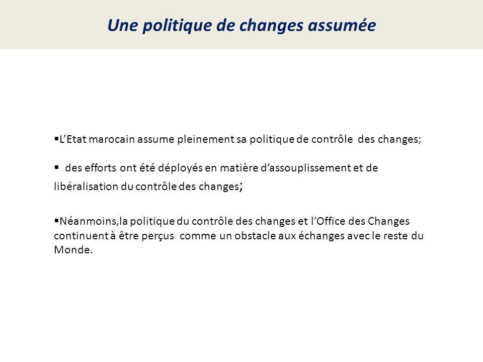 Une politique de changes assumée