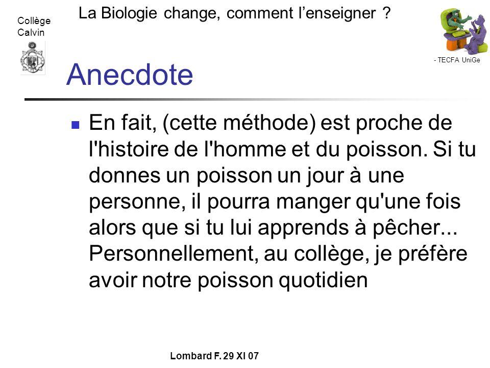 Anecdote