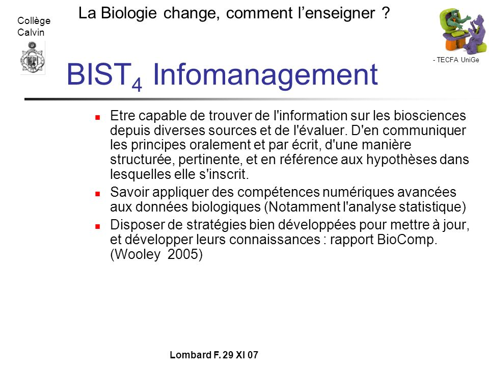 BIST4 Infomanagement