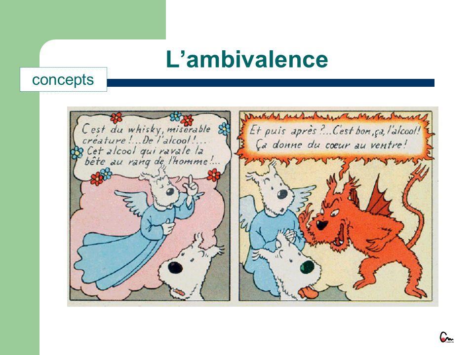 L'ambivalence concepts