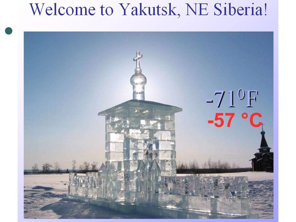 -57 °C
