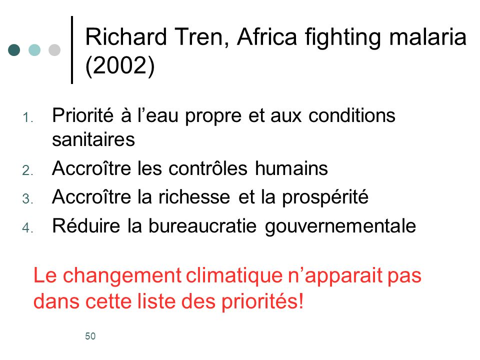 Richard Tren, Africa fighting malaria (2002)