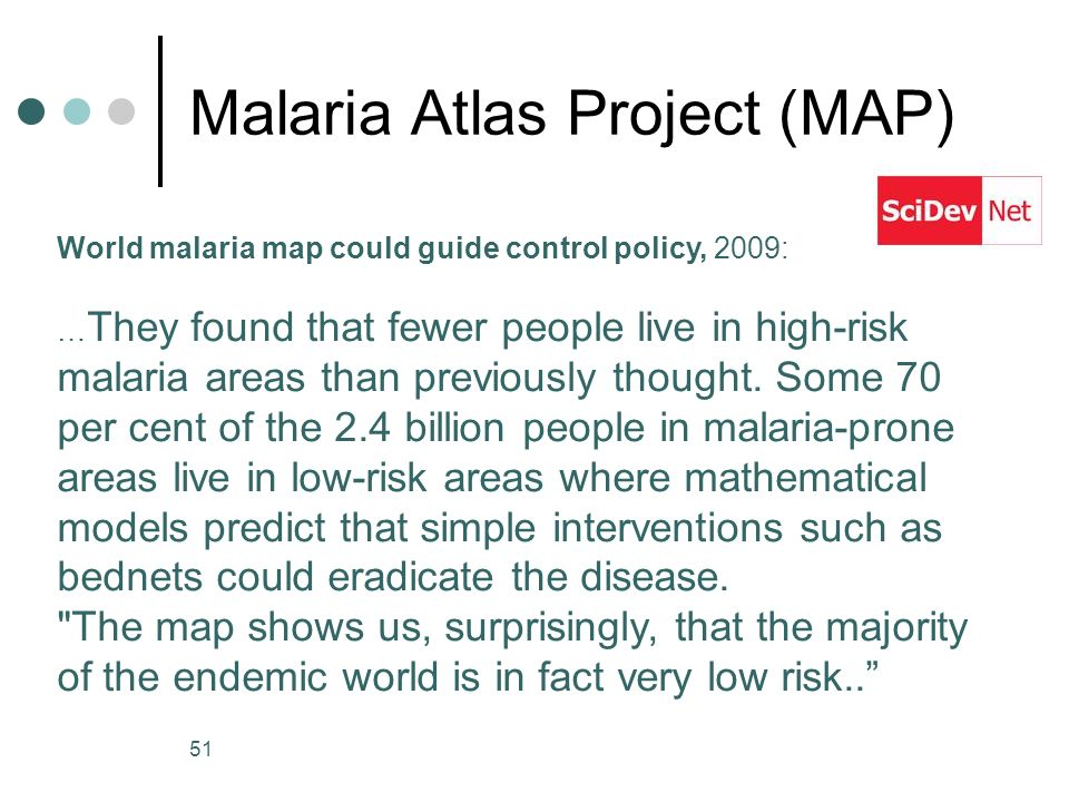 Malaria Atlas Project (MAP)