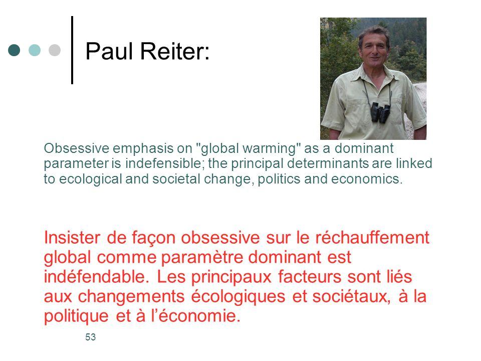 Paul Reiter: