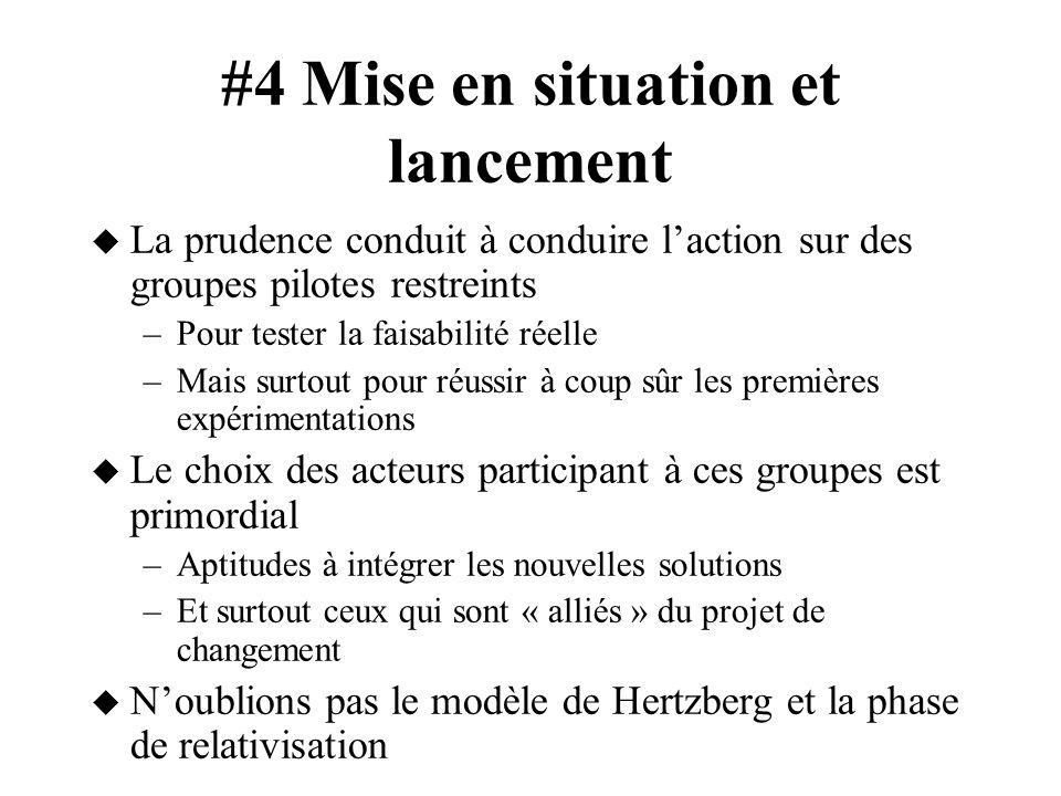 #4 Mise en situation et lancement