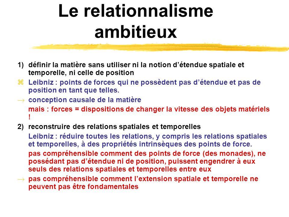 Le relationnalisme ambitieux