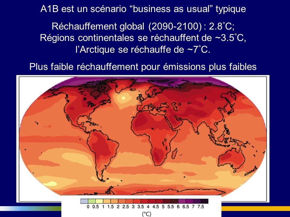 A1B est un scénario business as usual typique
