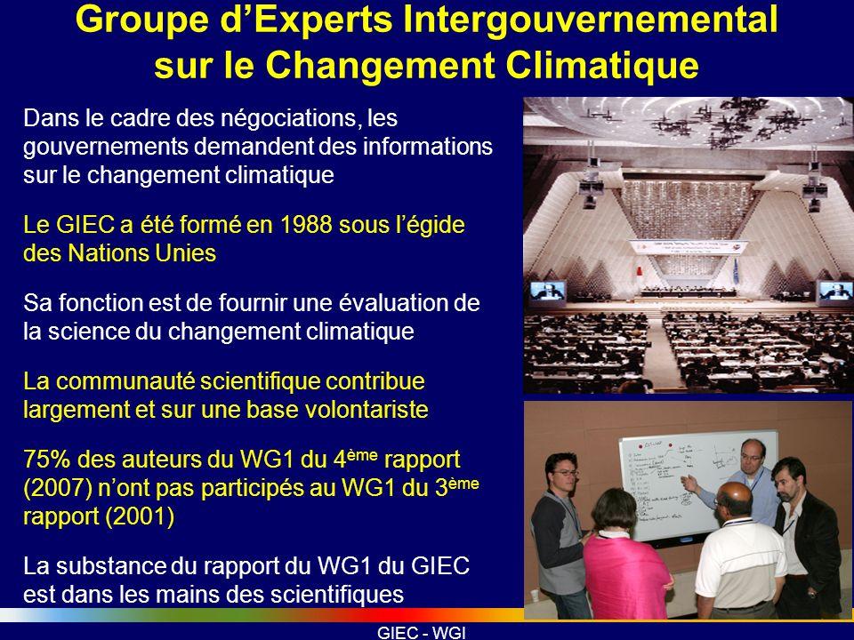 Groupe d'Experts Intergouvernemental sur le Changement Climatique
