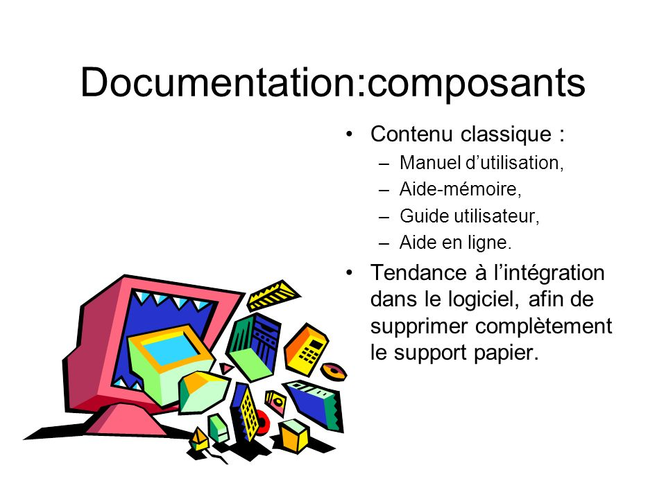 Documentation:composants