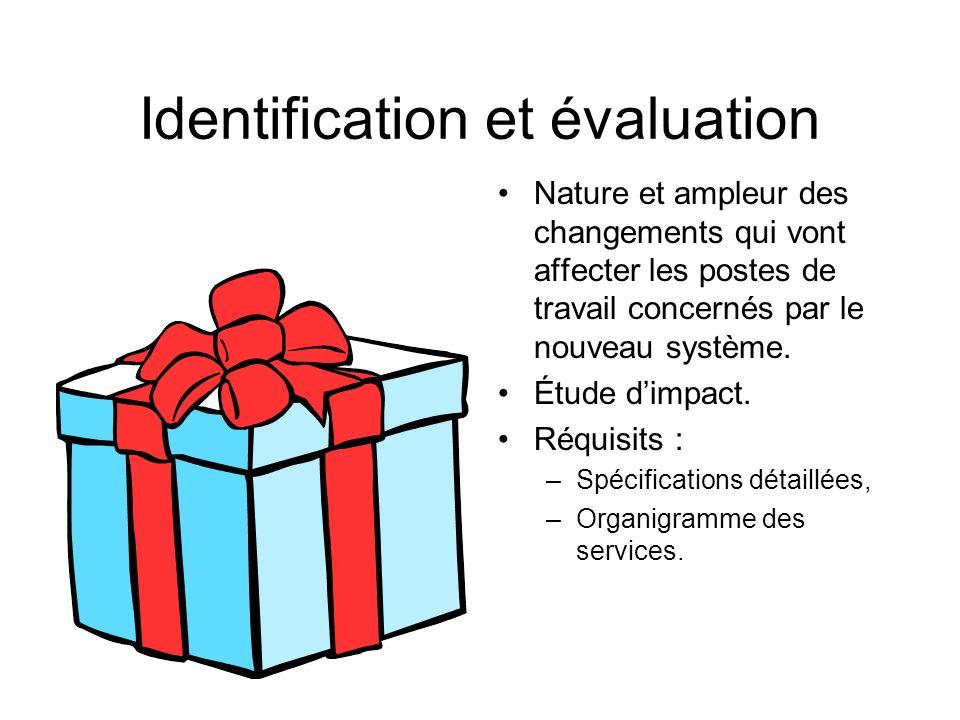 Identification et évaluation