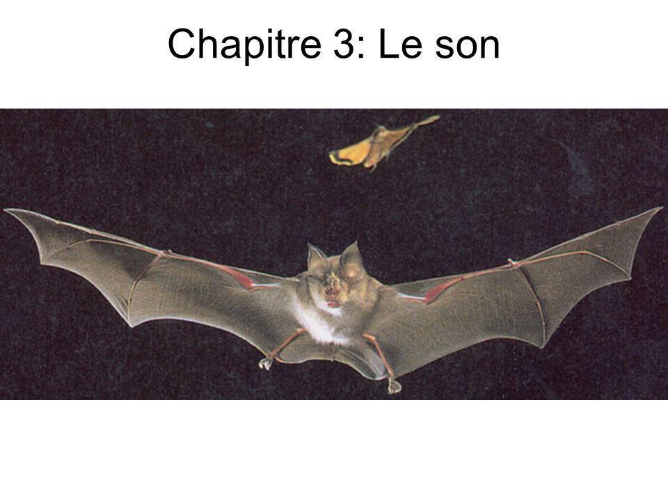 Chapitre 3: Le son
