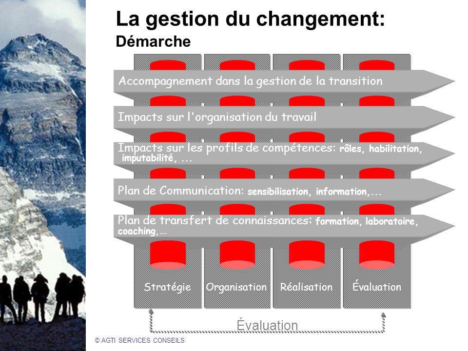 La gestion du changement: Démarche