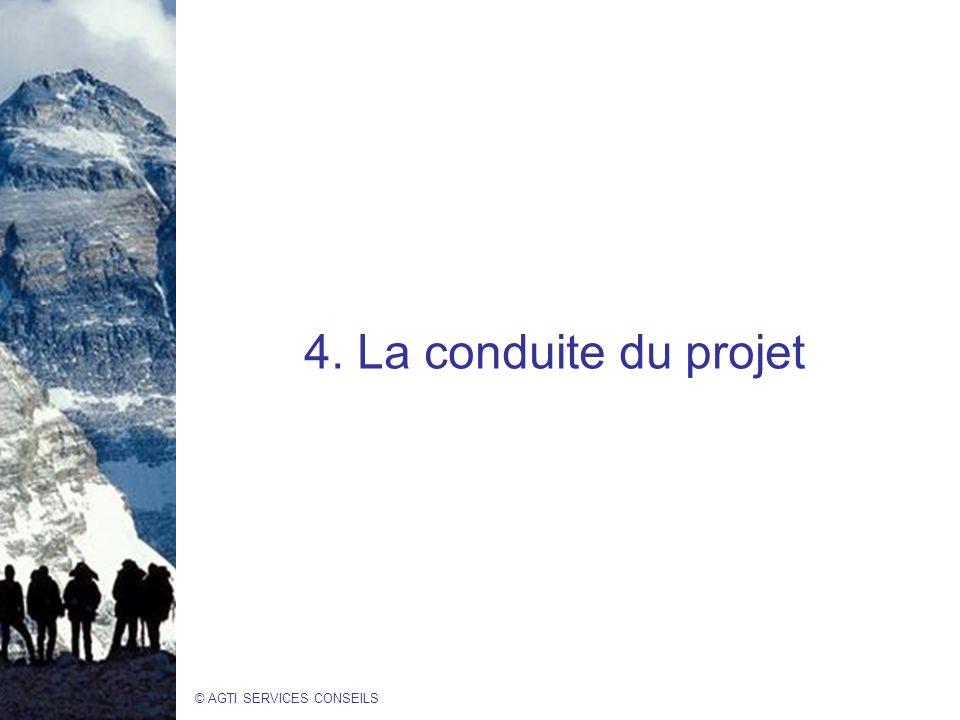4. La conduite du projet