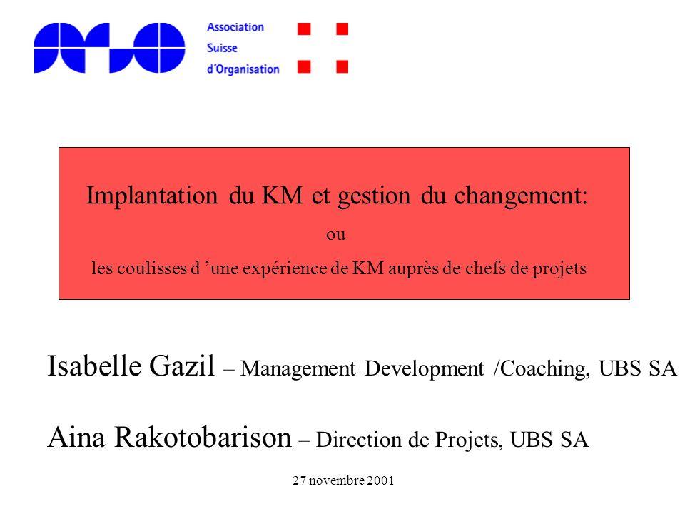 Isabelle Gazil – Management Development /Coaching, UBS SA