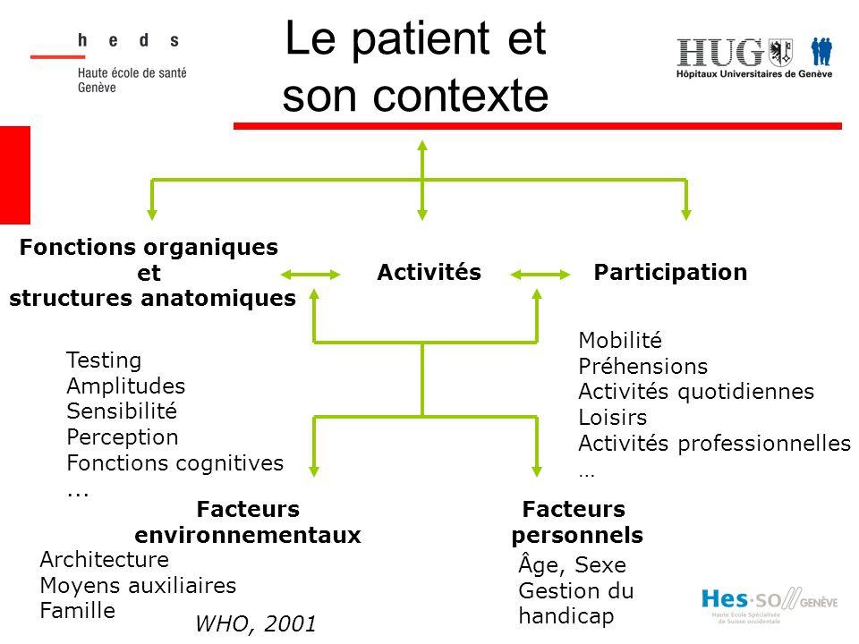 Le patient et son contexte