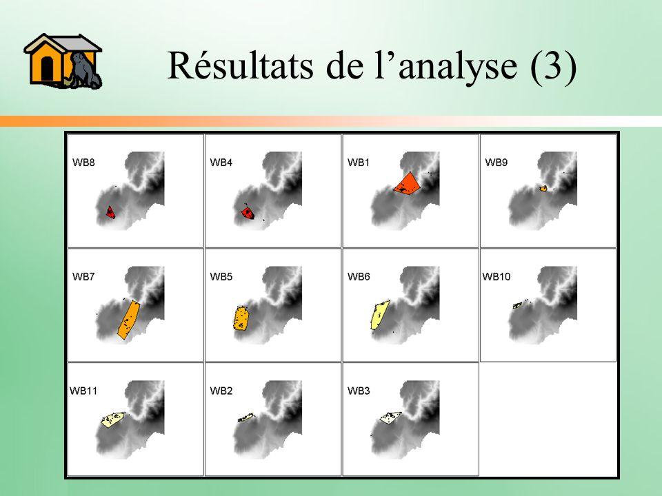Résultats de l'analyse (3)