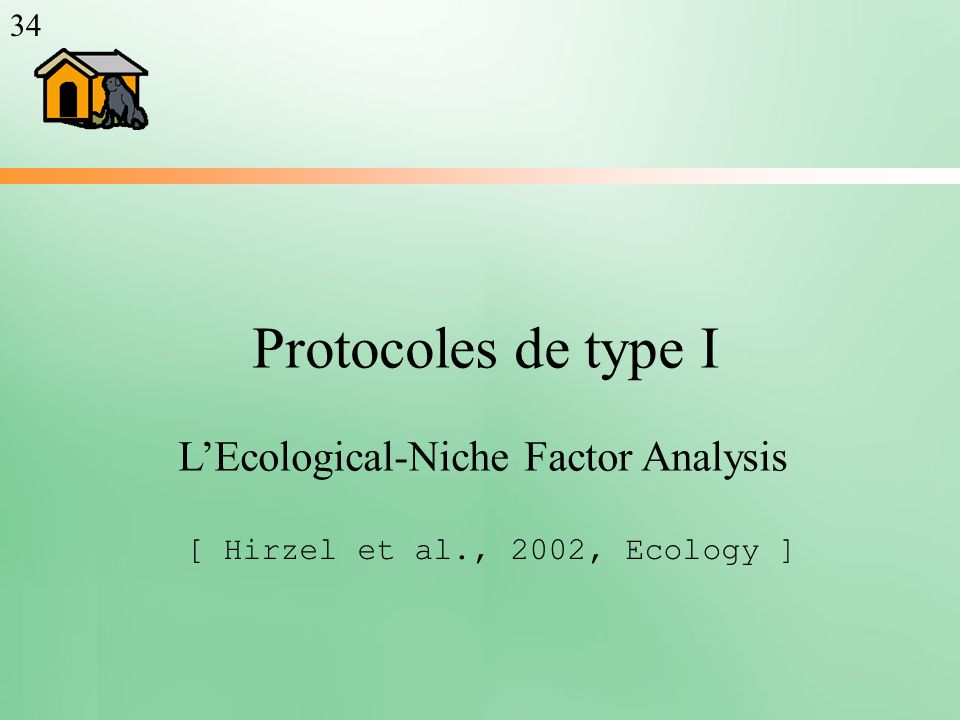 L'Ecological-Niche Factor Analysis
