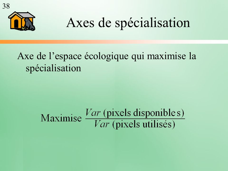 Axes de spécialisation