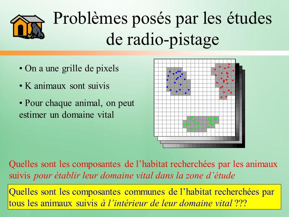 Problèmes posés par les études de radio-pistage