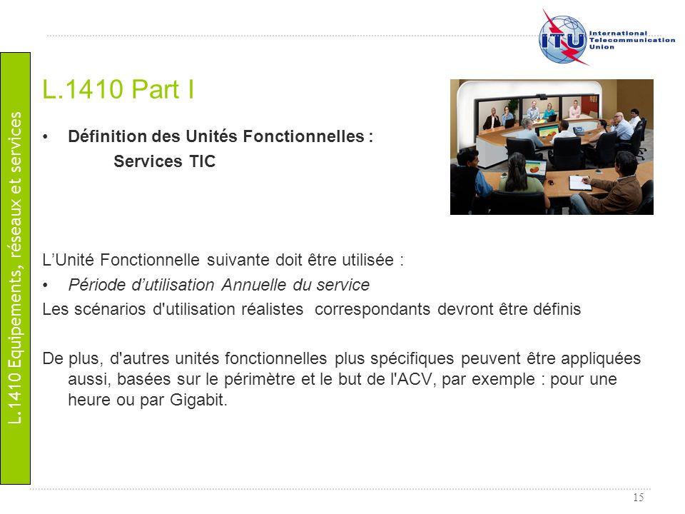 L.1410 Equipements, réseaux et services