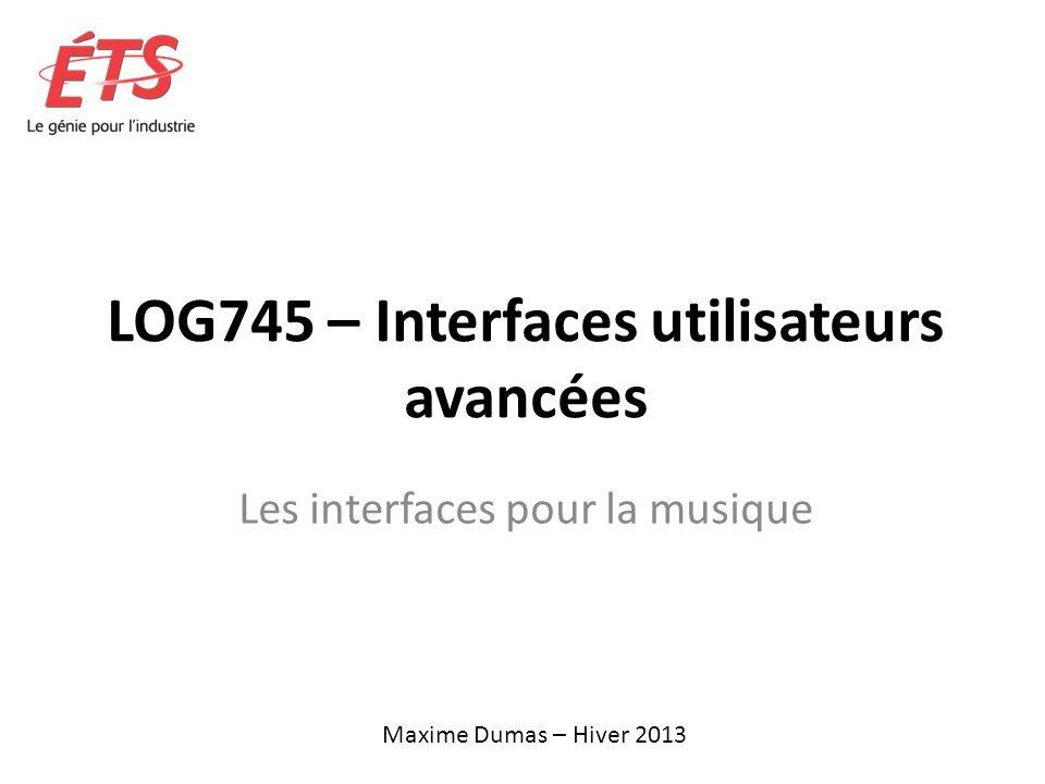 LOG745 – Interfaces utilisateurs avancées