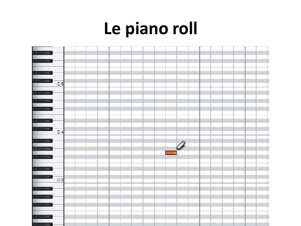 Le piano roll