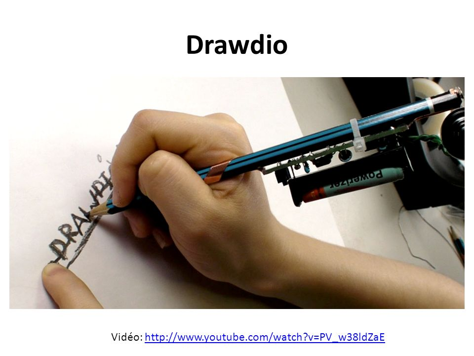 Drawdio Vidéo: http://www.youtube.com/watch v=PV_w38ldZaE