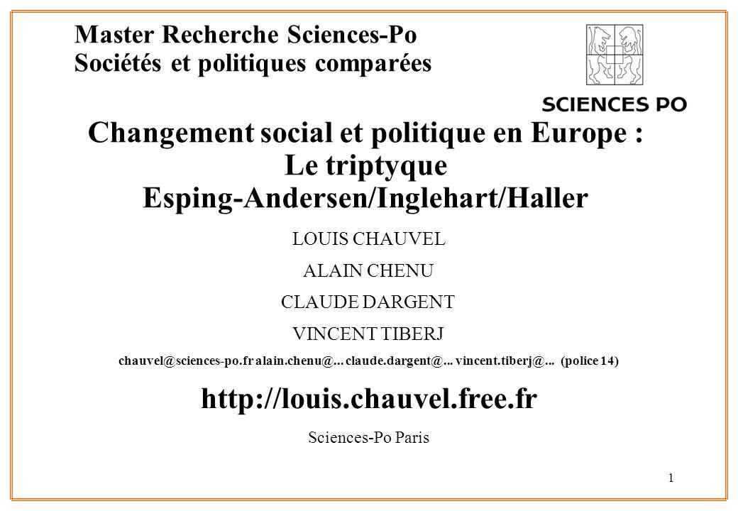 Master Recherche Sciences-Po Sociétés et politiques comparées