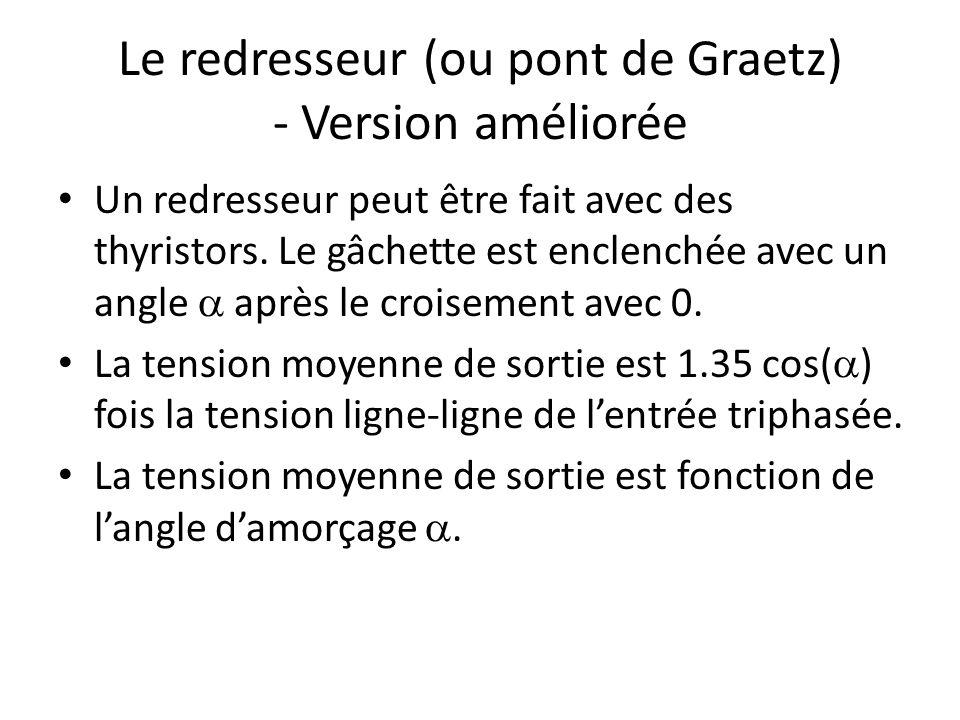 Le redresseur (ou pont de Graetz) - Version améliorée