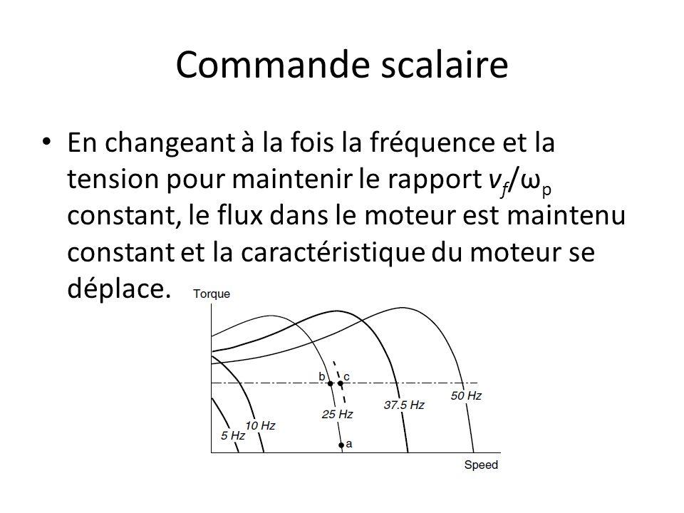 Commande scalaire