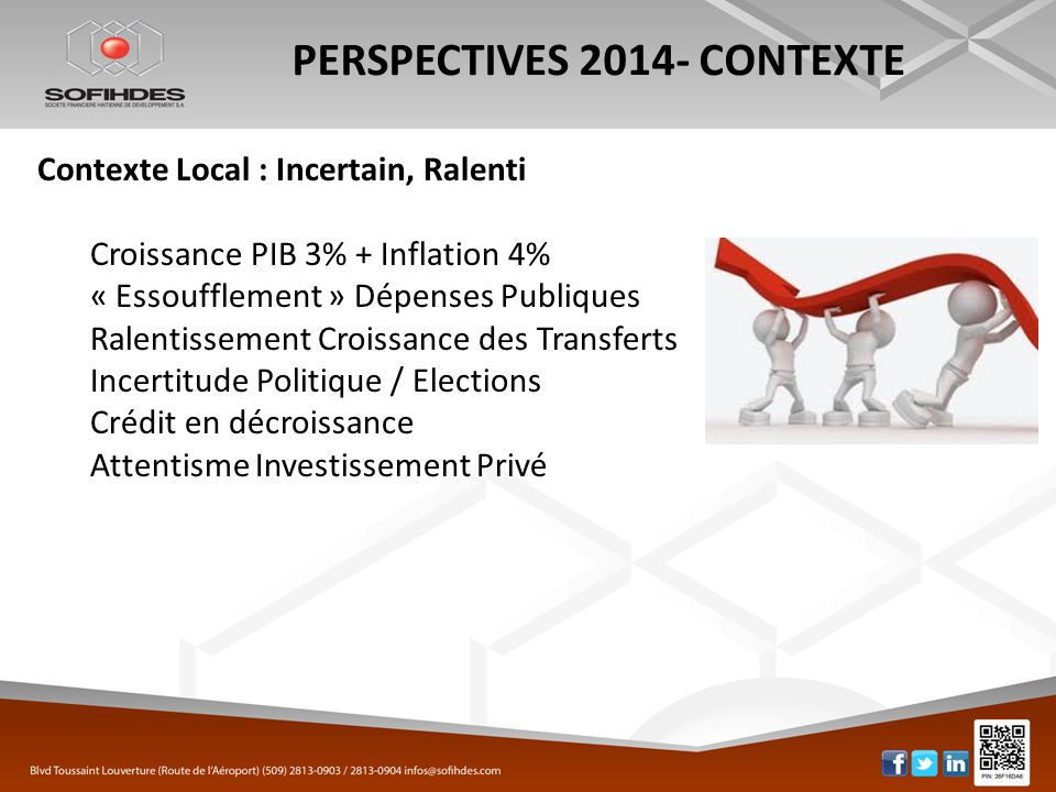 PERSPECTIVES 2014- CONTEXTE