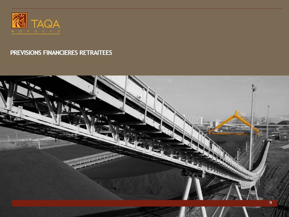 PREVISIONS FINANCIERES RETRAITEES
