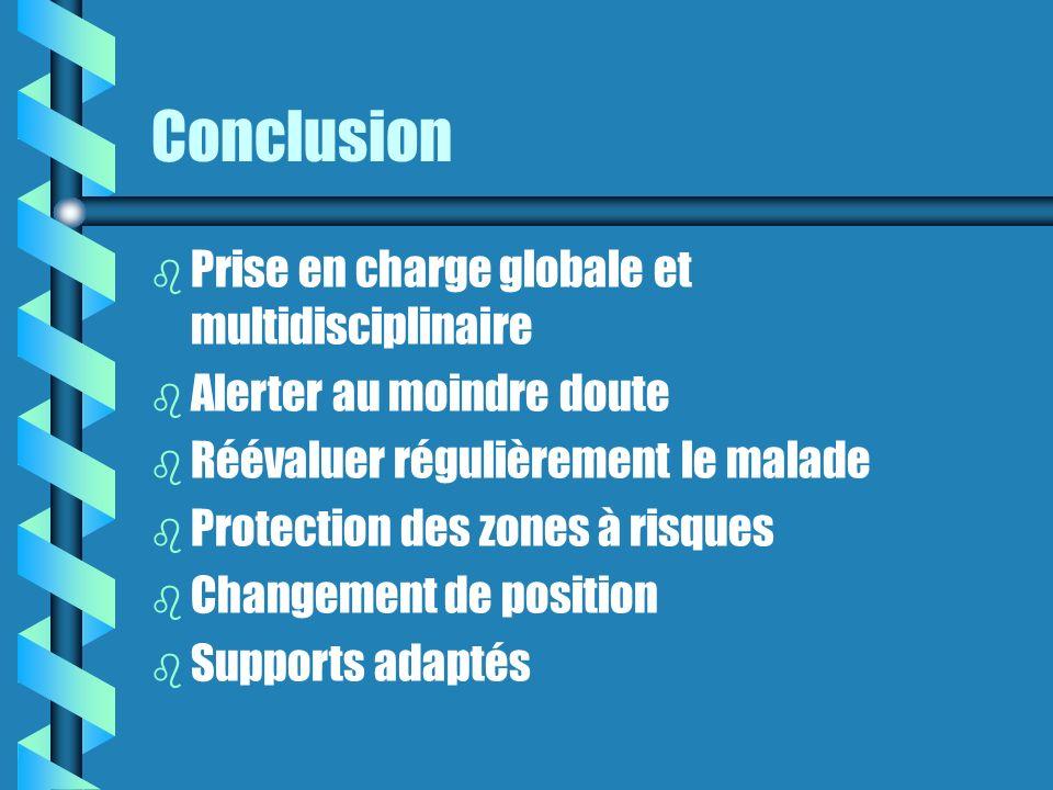 Conclusion Prise en charge globale et multidisciplinaire