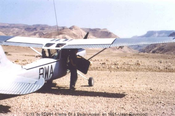 L-19 du PMAH 11ème DI à Seiar (Aurès) en 1961 (Jean Reymond)