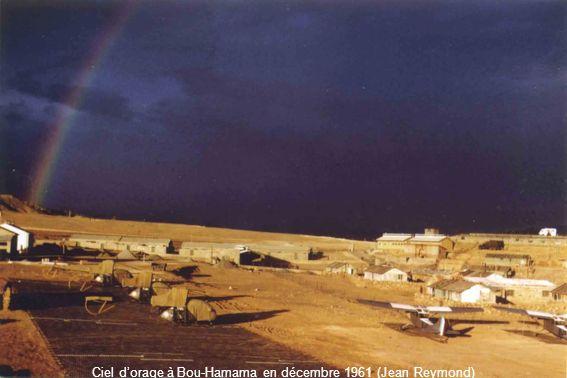 Ciel d'orage à Bou-Hamama en décembre 1961 (Jean Reymond)