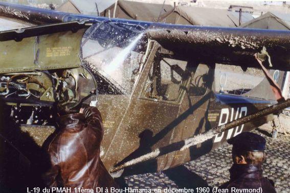 L-19 du PMAH 11ème DI à Bou-Hamama en décembre 1960 (Jean Reymond)