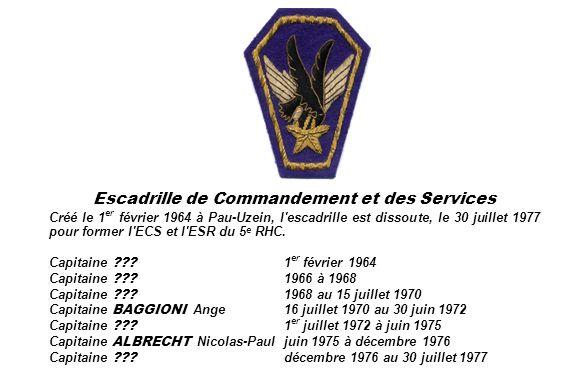 Escadrille de Commandement et des Services