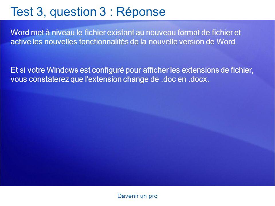 Test 3, question 3 : Réponse