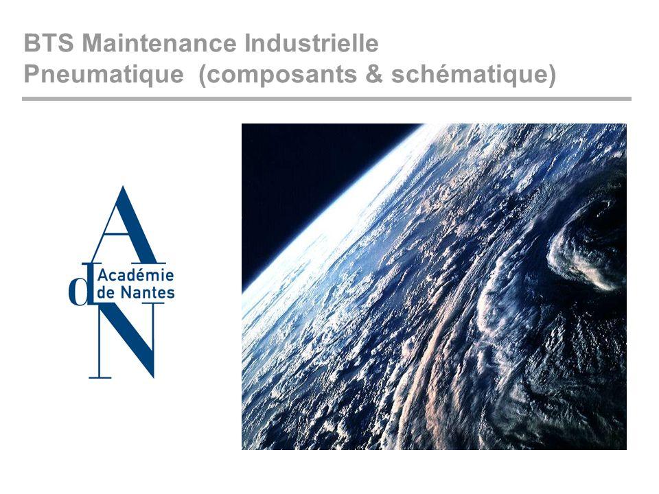 BTS Maintenance Industrielle Pneumatique (composants & schématique)
